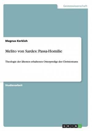 Melito Von Sardes