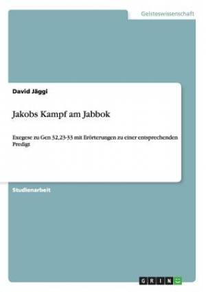 Jakobs Kampf Am Jabbok