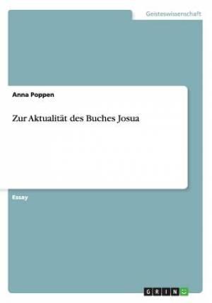 Zur Aktualitat Des Buches Josua