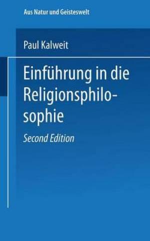 Einfuhrung in Die Religionsphilosophie