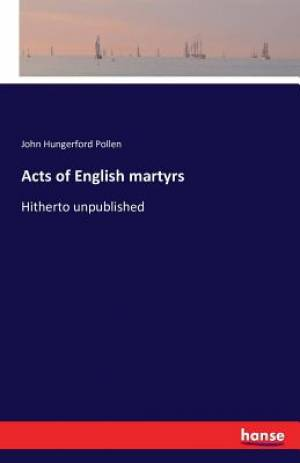 Acts of English martyrs