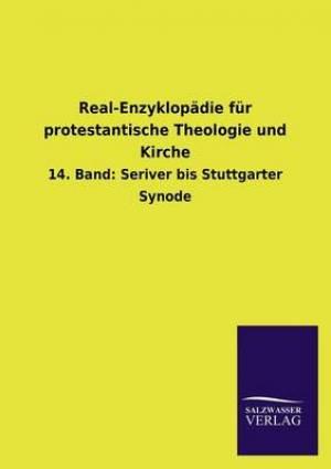 Real-Enzyklopadie Fur Protestantische Theologie Und Kirche