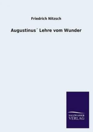 Augustinus Lehre Vom Wunder