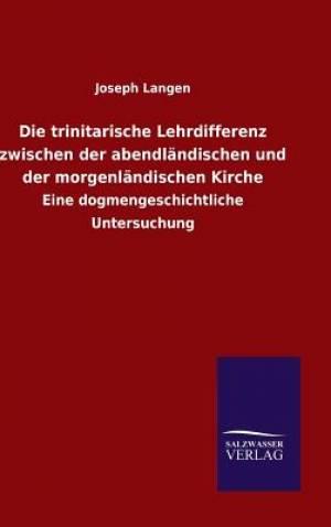 Die Trinitarische Lehrdifferenz Zwischen Der Abendlandischen Und Der Morgenlandischen Kirche