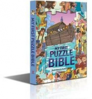 My First Puzzle Bible Hb