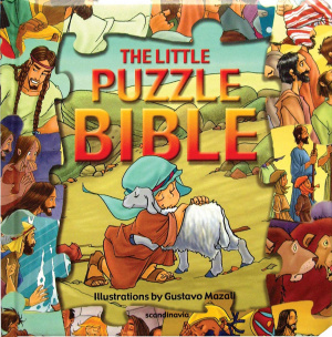 Little Puzzle Bible The Hb