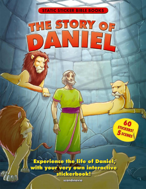 Story Of Daniel Static Sticker Book Pb