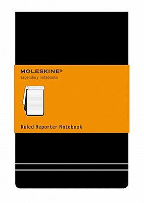 Moleskine Pocket Ruled Reporter Notebook