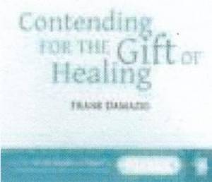 Audio CD-Contending For The Gift Of Healing