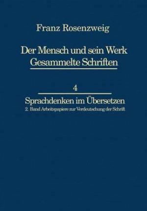 Franz Rosenzweig Sprachdenken