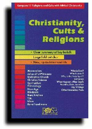 Christianity Cults And Religions Pamphlet Pack Of 5