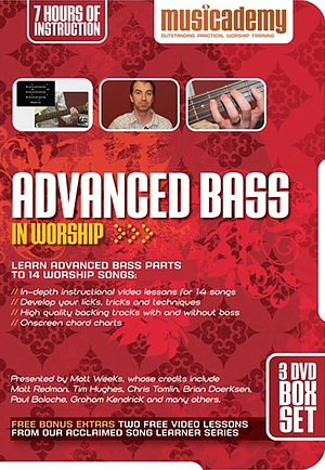 Musicademy Advanced Bass In Worship 3DVD