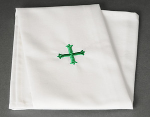 "Purificator 12"" x 20"" Green Cross Design"
