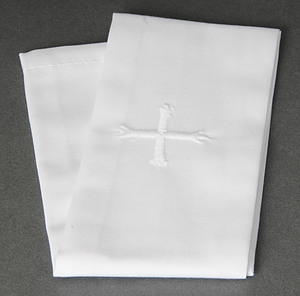 White Cross Lavabo Towel