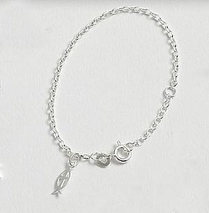Sterling Silver Child's Bracelet