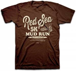 T-Shirt Red Sea Mud Run    LARGE