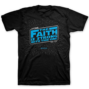 T-Shirt Faith Is Strong Large