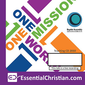 Special Interest: Safeguarding/Launch of New a talk from Baptist Assembly