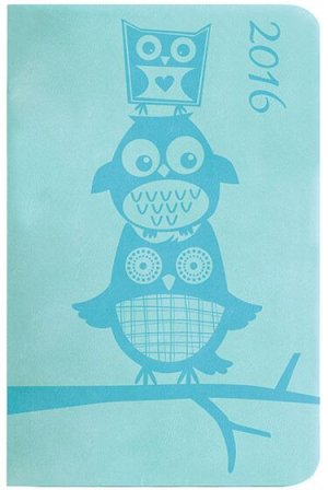 Blue Owl Pocket Diary 2016