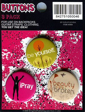 Witness Badges iPray - Pack of 3