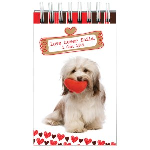 Love Never Fails -  Notepad - Pack of 3
