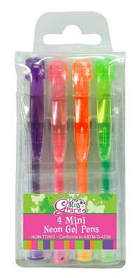 Mini Neon Gel Pen Set
