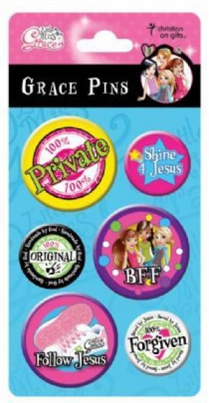 Shine 4 Jesus Witness Pins - Set of 6