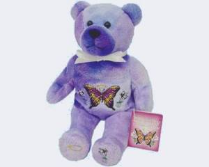 Eternity Butterfly Holy Bear