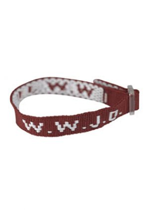 Red WWJD WristStraps - Pack of 6