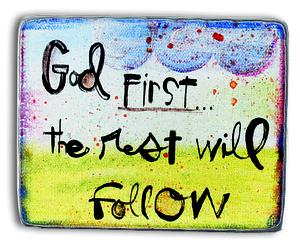 God First Magnet