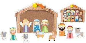 wholesale dealer c8f29 b49b1 Wooden Children's Nativity Set