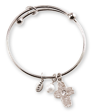 Communion Cross Bangle