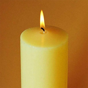 """Church Candles 9"""" x 1"""" - Pack of 24"""