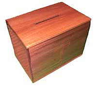 Lockable Offering Box