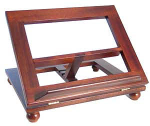 Adjustable Book Stand (Dark)