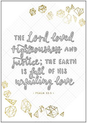 Unfailing Love A4 Print