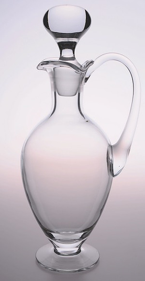 Glass Cruet with Stopper