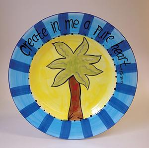 Create in Me Dinner Plate