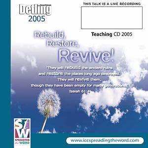 Rebuilding Community a talk by Lee Townend