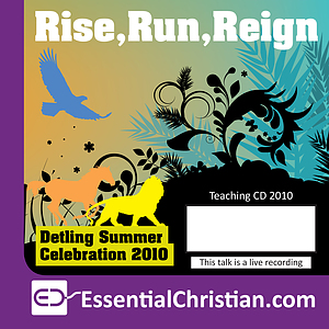 Rise, Run Reign in the Holy Spirit Session 4 - a talk by Dan Chesney & Nori Chesney