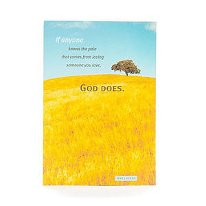 Max Lucado - Sympathy - God Knows Your Pain - 6 Premium Cards