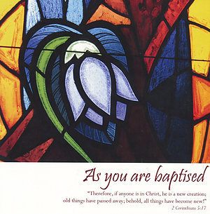 As You are Baptised - Single Card