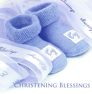 Christening Blessings - Single Card