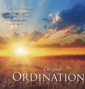 On Your Ordination - Single Card