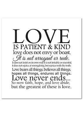 Love Is - Single Card
