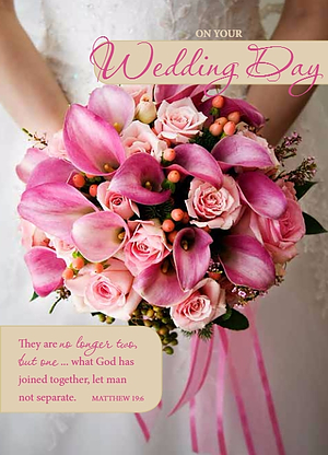On Your Wedding Day Single Card