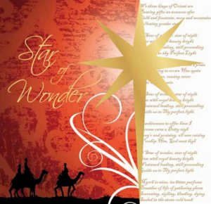 Star of Wonder Christmas Cards Pack of 10
