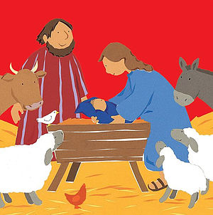 My Very First In the Manger Christmas Cards - Pack of 10