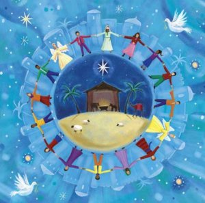 Peace on Earth Christmas Cards Pack of 10