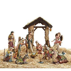 14 Piece Nativity Set